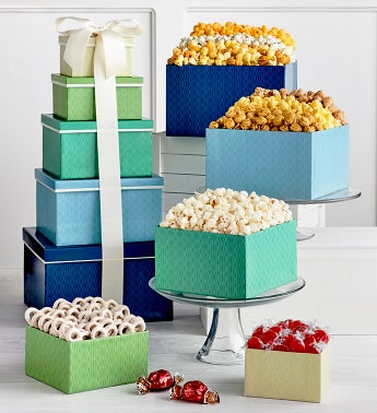 Delicious Occasions 5 Gift Box Tower