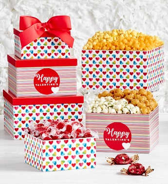 Popped Through The Heart 3-Tier Gift Tower