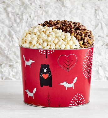 Beary In Love Deluxe Popcorn Tin