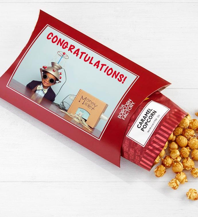 Cards With Pop Congratulations Caramel Corn