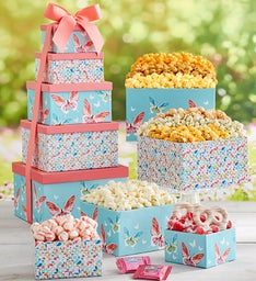 Butterflies Unleashed  Gift Box Tower