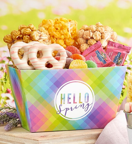 Hello Spring Basket
