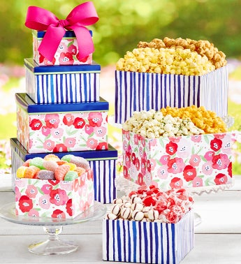 Colors of Spring 4 Gift Box Tower
