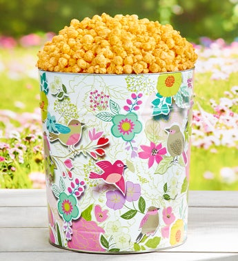 Summer Awakening Pick a Flavor 3 1/2 Gallon Popcorn Tins