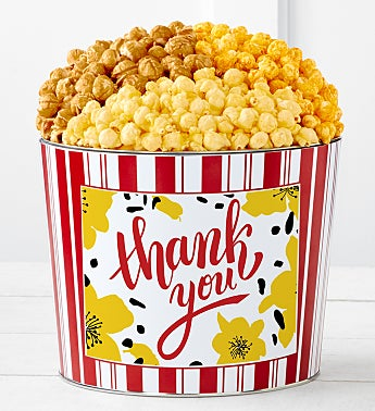 Tins With Pop® Thank You Flowers