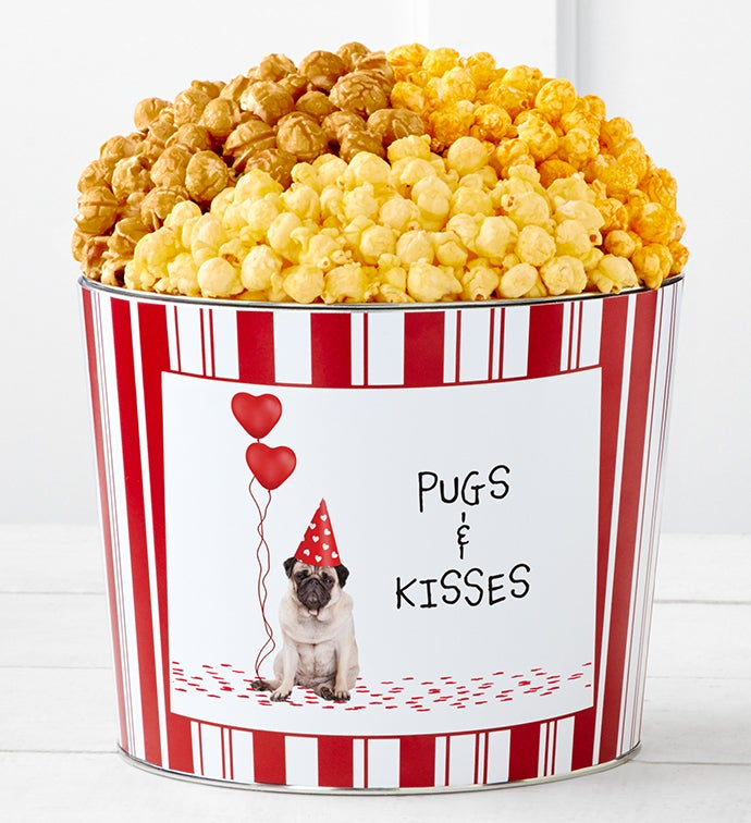 Tins With Pop® Pugs And Kisses