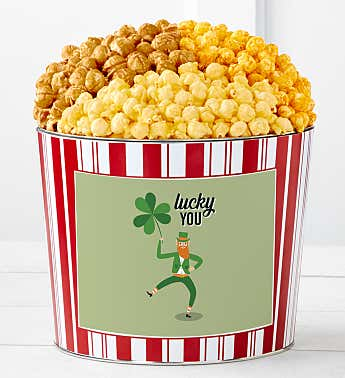 Tins With Pop® Lucky You Clover