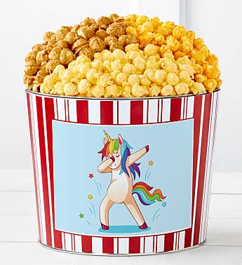Tins With Pop® Rainbow Unicorn