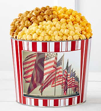 Tins With Pop® Waving Flags