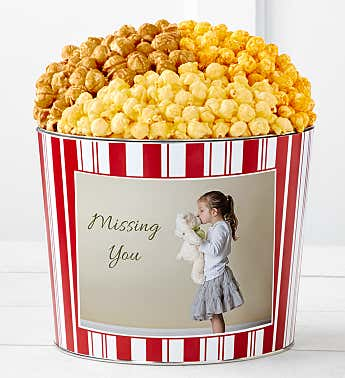 Tins With Pop® Missing You Girl With Stuffed Animal