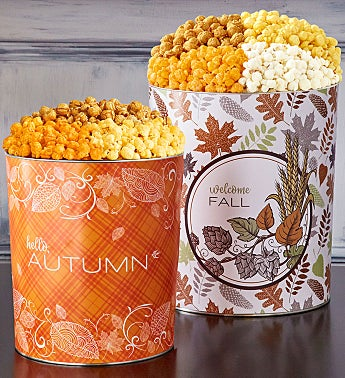 It's Fall Y'all Popcorn Tins