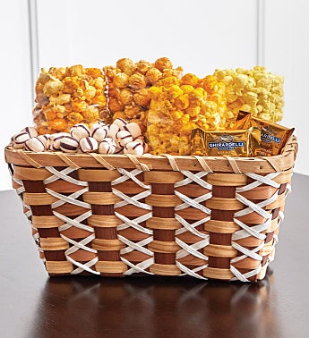 It's Fall Y'all Wicker Gift Basket