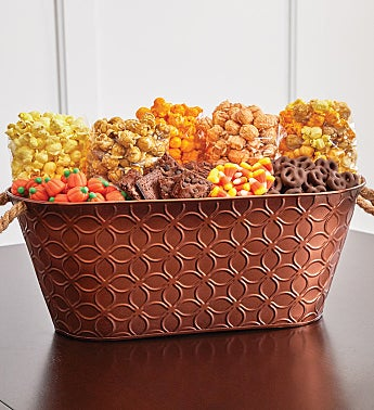 It's Fall Y'all Bronze Gift Basket