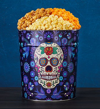 Day of the Dead Popcorn Tins