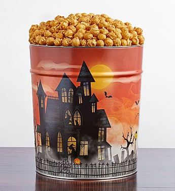Fright Night 3 1/2 Gallon Pick-a-Flavor Popcorn Tins