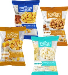 Pack Assorted Flavors Popcorn Bags