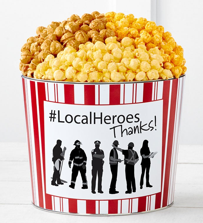 Tins With Pop® Local Heroes Thank You