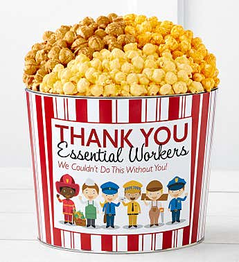 Tins With Pop® Thank You Essential Workers