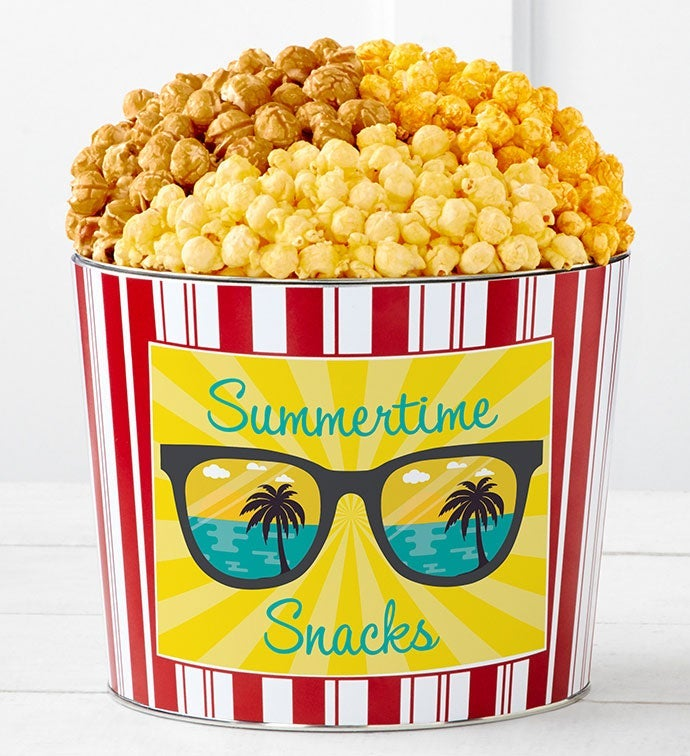 Tins With Pop Summertime Snacks