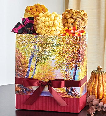 Autumn Canvas Gift Box