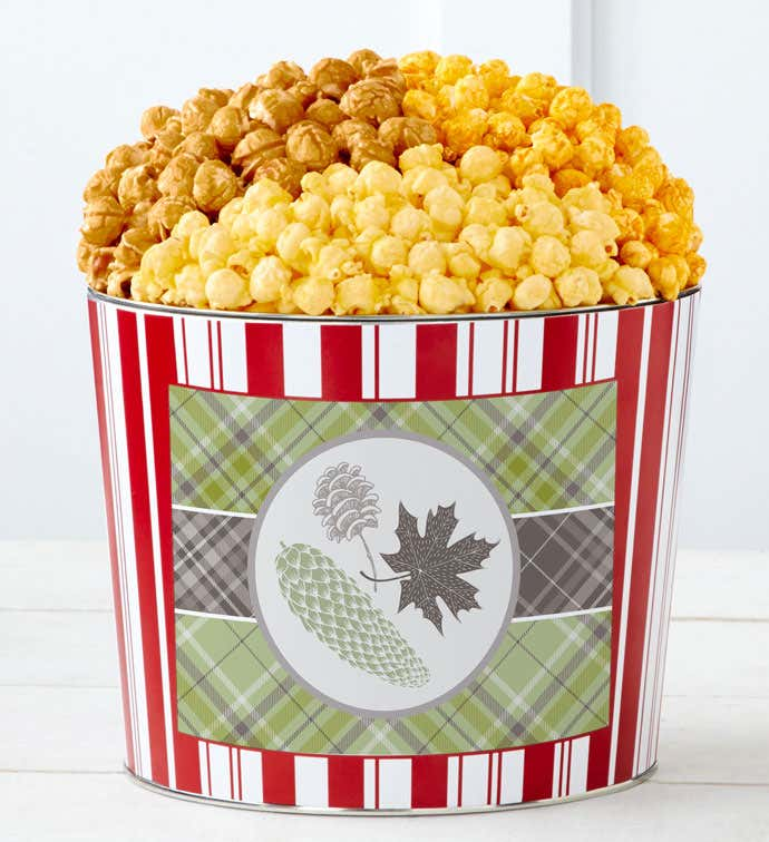 Tins With Pop® It's Fall Y'All Green Plaid