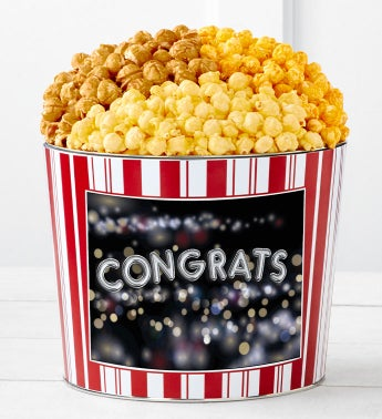 Tins With Pop™ Congratulations Balloons