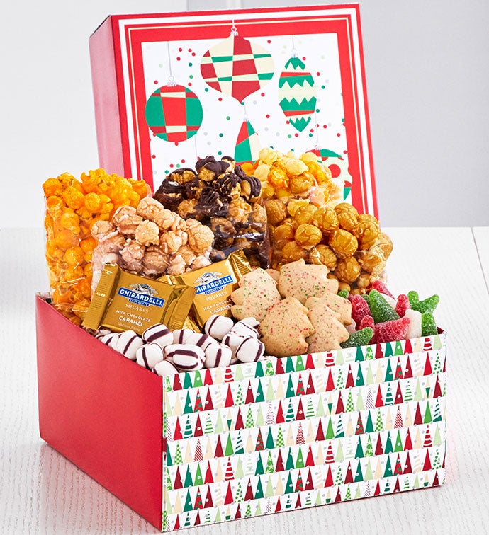 Twinkling Trees Gift Box
