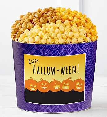 Tins With Pop® Happy Halloween Pumpkins - Ghostly Grins