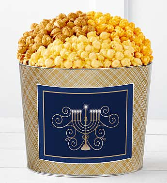 Tins With Pop® Hanukkah Gold Candle