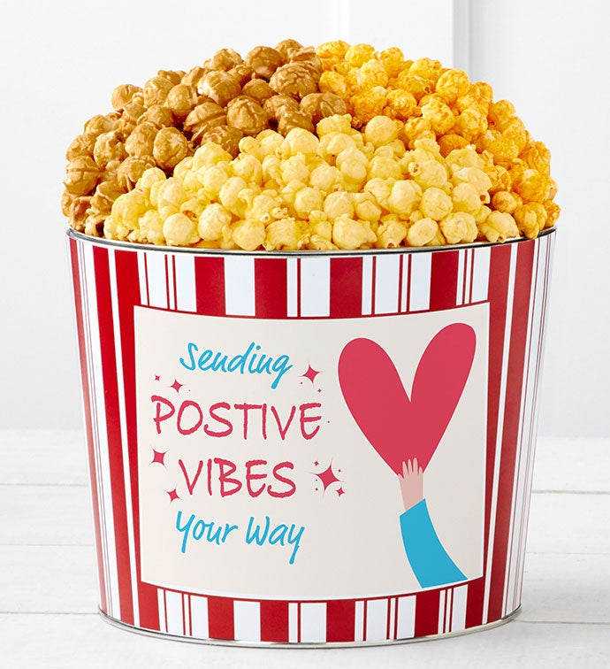 Tins With Pop® Sending Positive Vibes