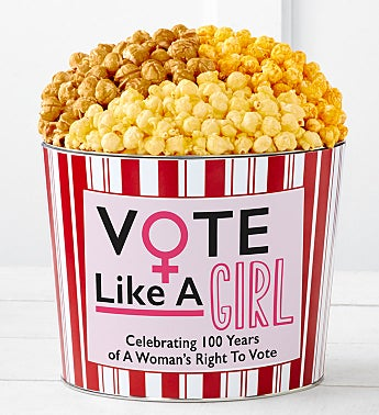 Tins With Pop™ Vote Like A Girl