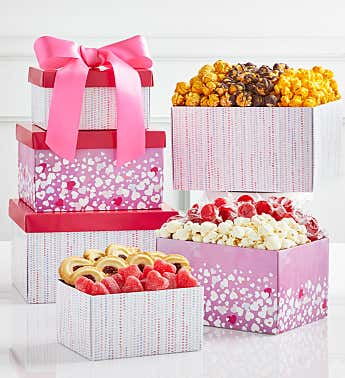Bursting With Love 3 Gift Box Tower