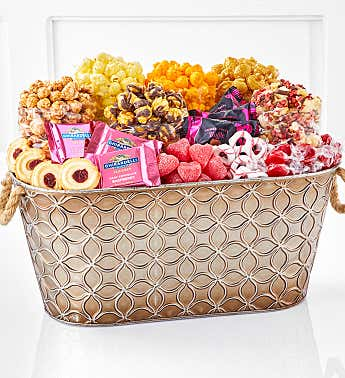 Blushing Branches Gift Basket