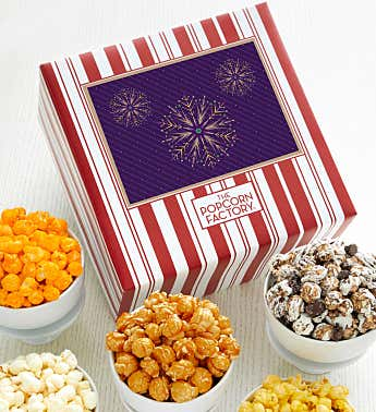 Packed With Pop™ Gold Snowflake - Purple