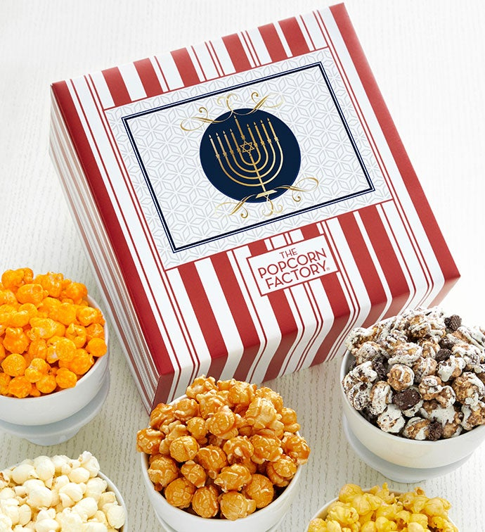 Packed With Pop™ Hanukkah Candle White Background