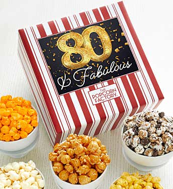 Packed With Pop™ Happy 80th Birthday