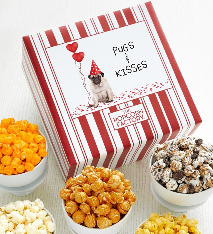 Packed With Pop™ Pugs And Kisses