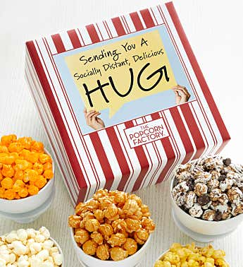 Packed With Pop™ Socially Distant Hug - Sign