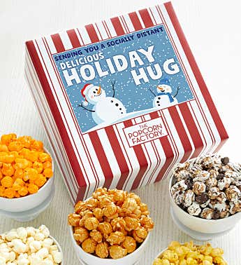 Packed With Pop™ Sending You A Socially Distant Delicious Holiday Hug