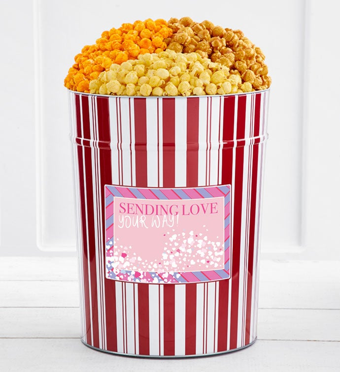 Tins With Pop® 4 Gallon Sending Love Your Way