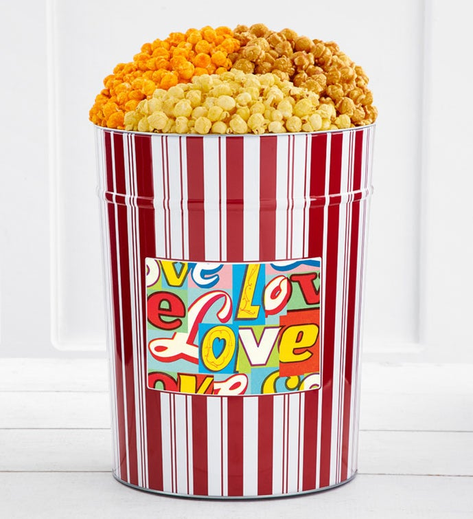 Tins With Pop® 4 Gallon Retro Love