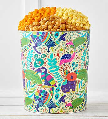 Tropical Vibes Popcorn Tins