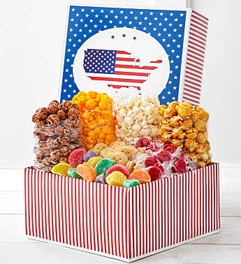 Red, White & Patriotic Gift Box