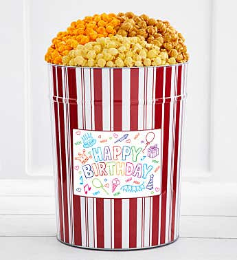 Tins With Pop® 4 Gallon Tween Birthday