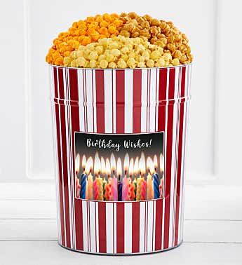 Tins With Pop® 4 Gallon Birthday Wishes