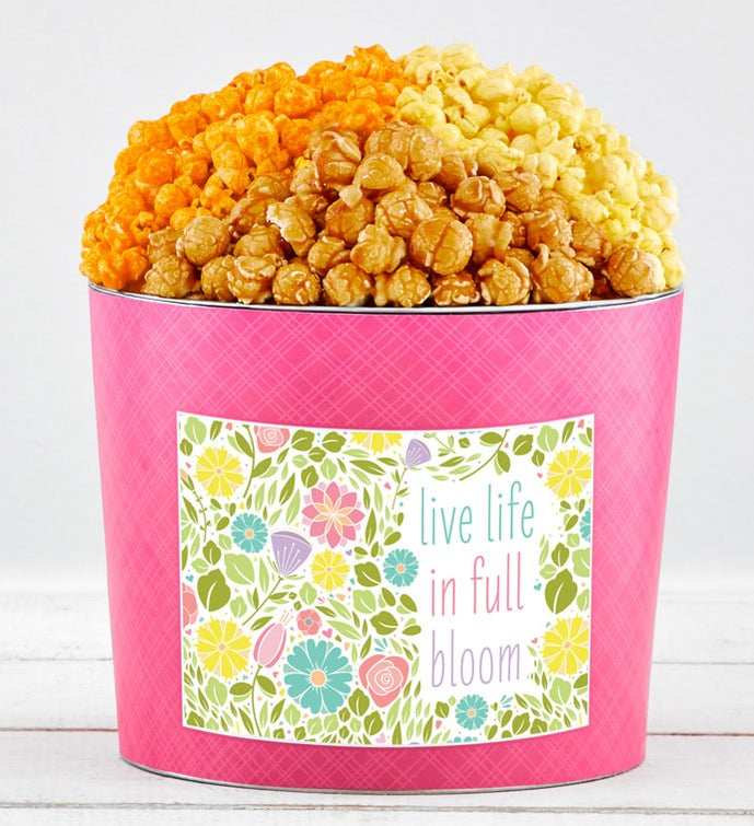 Tins With Pop® Live Life In Full Bloom