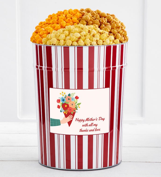 Tins With Pop® 4 Gallon Happy Mother's Day With All My Thanks And Love