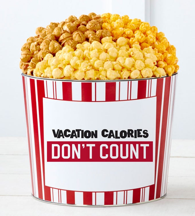 Tins With Pop® Vacation Calories Don't Count