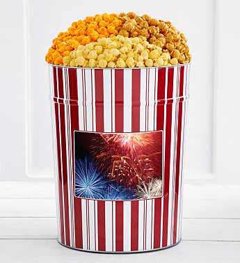 Tins With Pop® 4 Gallon Fireworks