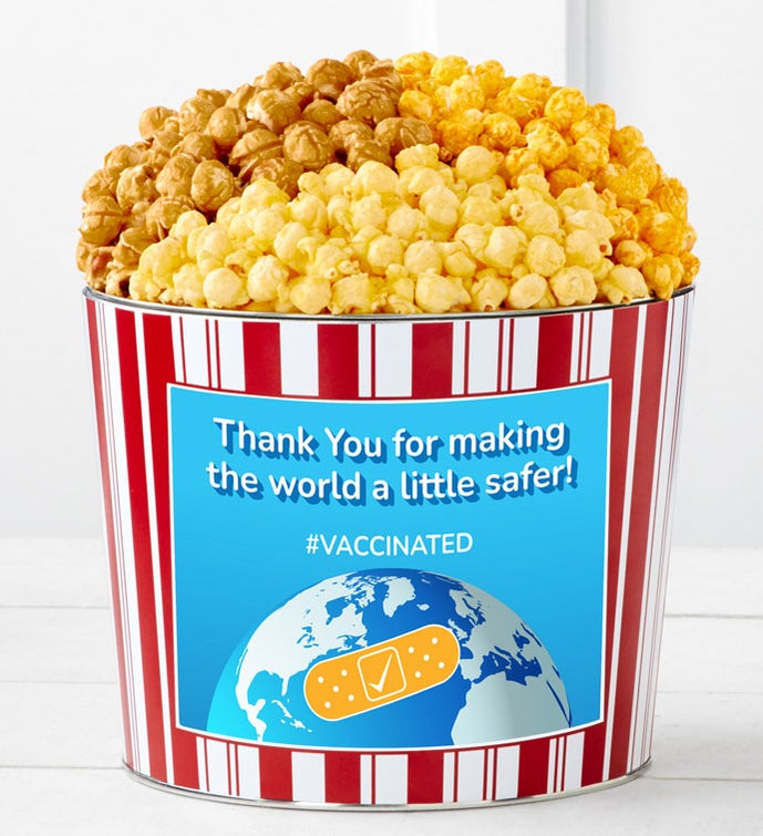 Tins With Pop® Thank You For Making The World A Bit Safer